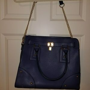 Blue tote from JustFab.